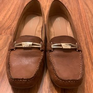 Naturalizer Saddle Tan Saturday Leather Loafer
